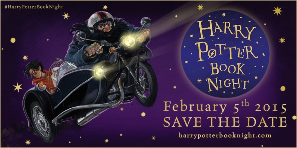 Harry Potter Book Night - twitter image